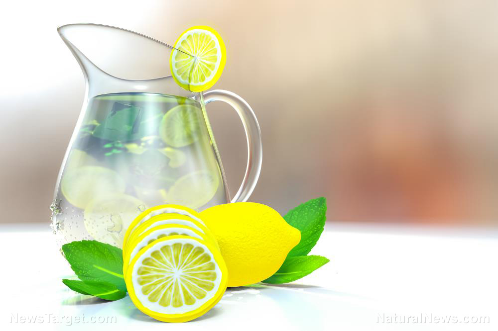 Zest up your day – and your health – by drinking lemon water